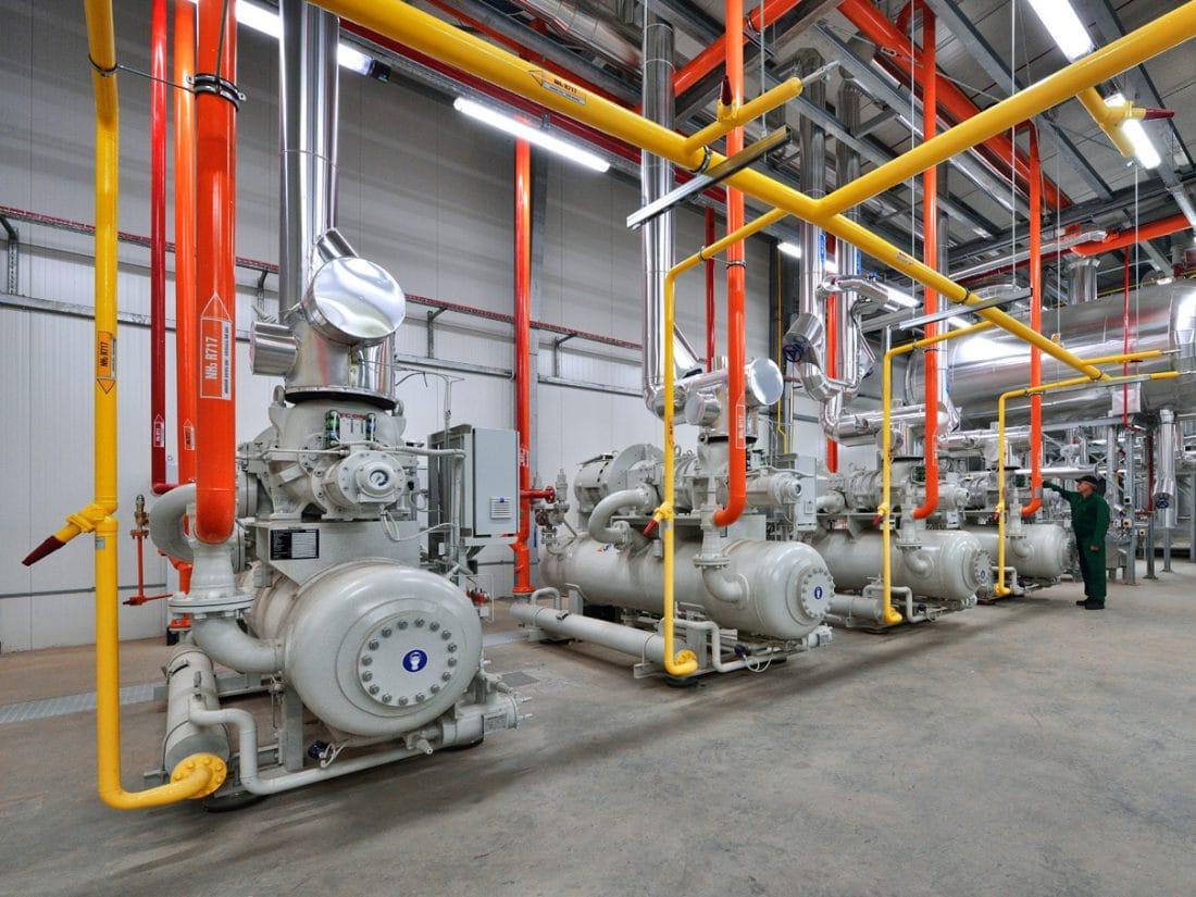 JBB Bałdyga energooszczędna maszynownia amoniakalna